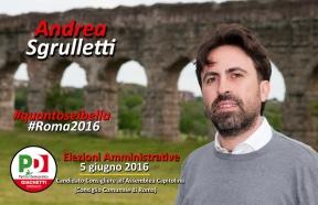 Andrea Sgrulletti - #quantoseibella #Roma2016